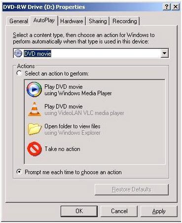 Fix autoplay on Windows XP 1