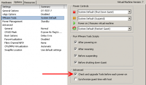 vsphere_check_and_upgrade_vmware_tools
