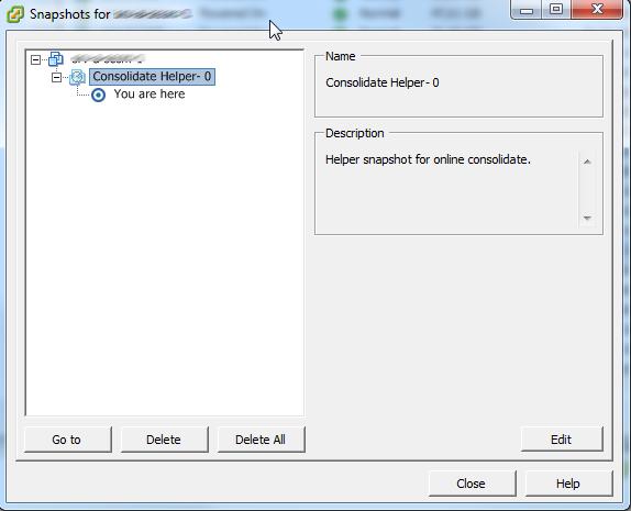 VMWare ESX 4.1 Consolidated helper 0