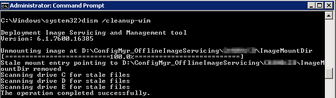SCCM_Unmount_Image_DISM
