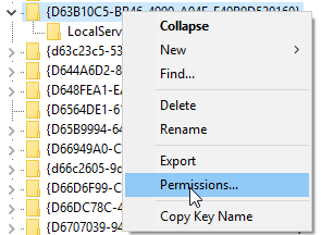 Event ID 10016 The application-specific permission settings do not grant Local Activation permission for the COM Server application with CLSID 4