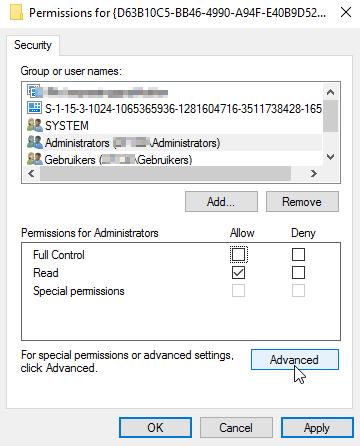 runtimebroker.exe distributedcom error