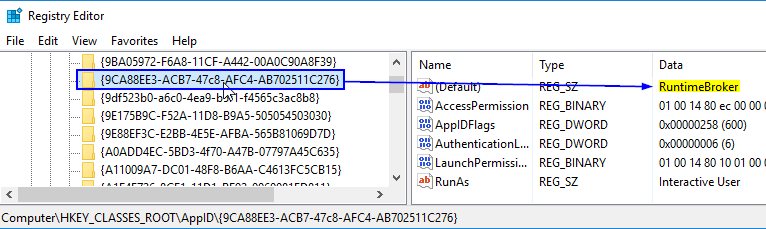 Event ID 10016 The application-specific permission settings