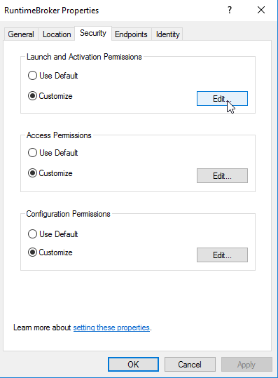 Event ID 10016 The application-specific permission settings do not grant Local Activation permission for the COM Server application with CLSID 19