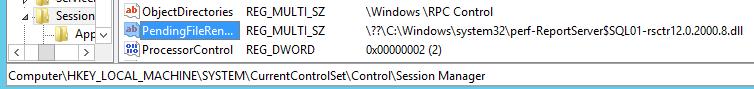 PendingFileNameOperations - RebootRequiredCheck - Restart Computer