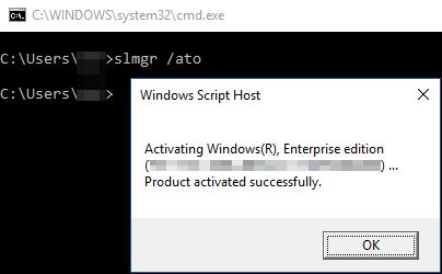 Fix for Event 8198 - License Activation (slui exe) failed