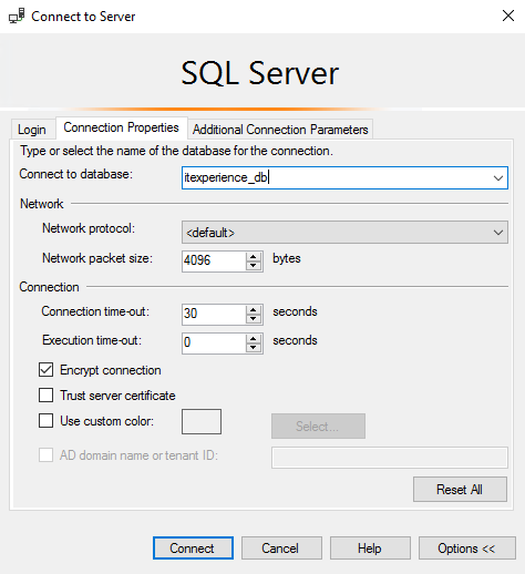 Error 18456 in Azure SQL : Cannot connect to  database