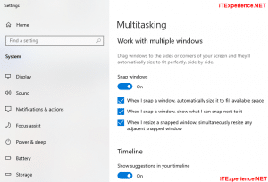 Disable snapping and resizing windows automatically in Windows 10 2