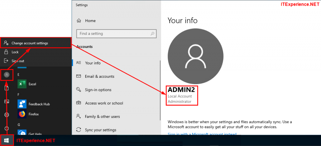 windows 10 check local administrator